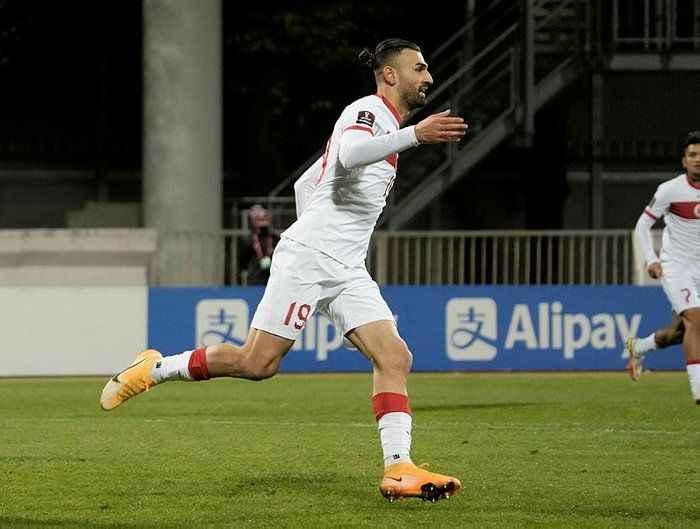 Sakaryalı Serdar Dursun milli formayla ilk maçında golünü attı