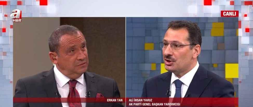 """Ver mehteri diyen Erkan Tan'ın konuğu olan Yavuz: """"CHP laf üretmekten başka bir şey yapmaz"""""""