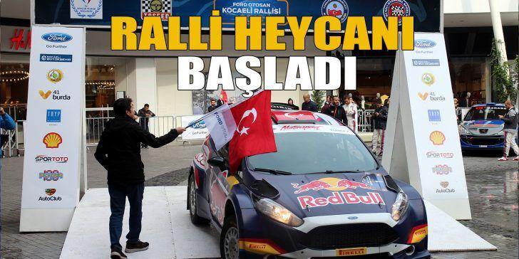 Türkiye Ralli Şampiyonası'nda Yarış Başladı