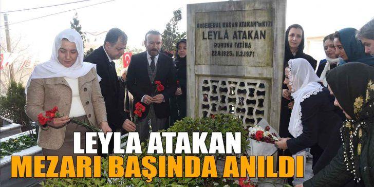 Leyla Atakan Törenle Anıldı