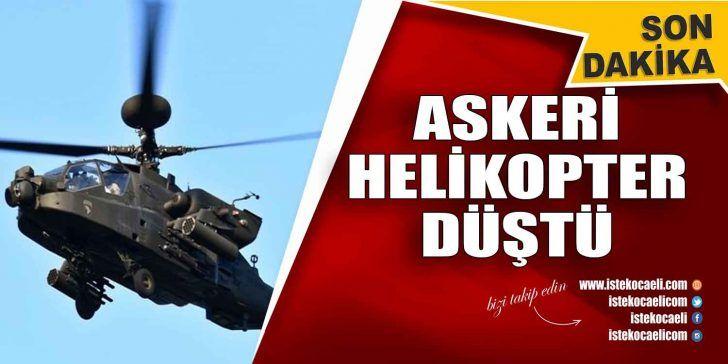 Son Dakika! İstabul'da Askeri Helikopter Düştü