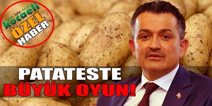 Patates İthalatı Şirketinin Danışmanı Tarım Bakanımız Çıktı