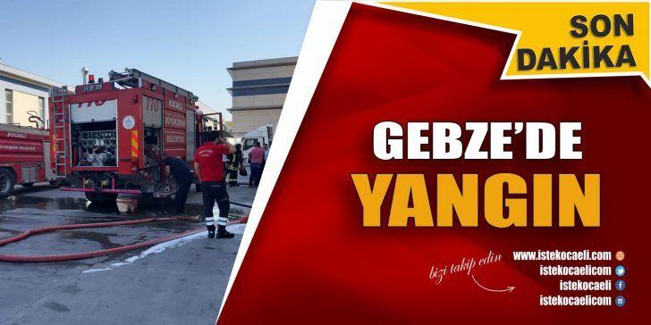 Organize Sanayi'de Yangın Çıktı
