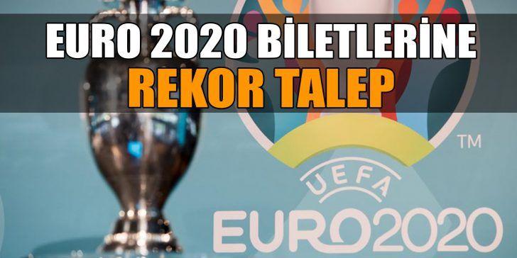 İşte Euro 2020 Biletlerine Başvuru Sayısı