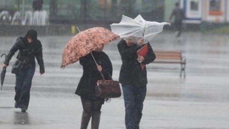 Meteoroloji'de kuvvetli yağış uyarısı