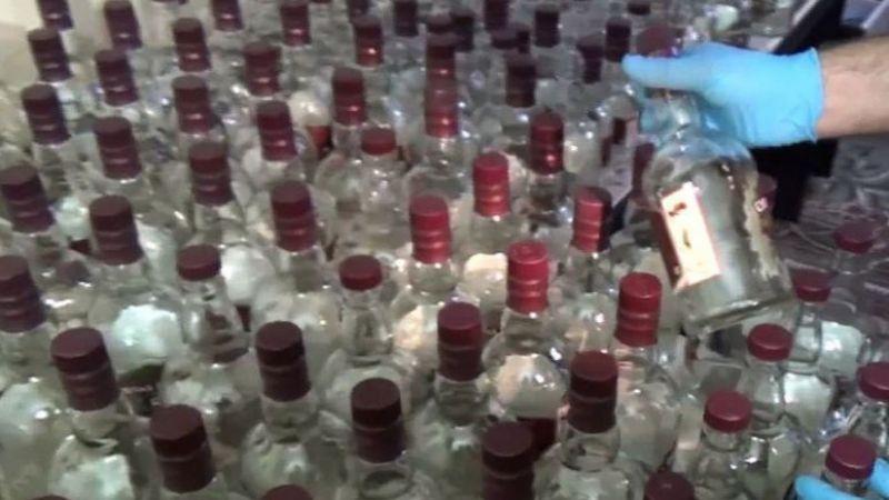 Kocaeli'de 103 litre etil alkol ele geçirildi