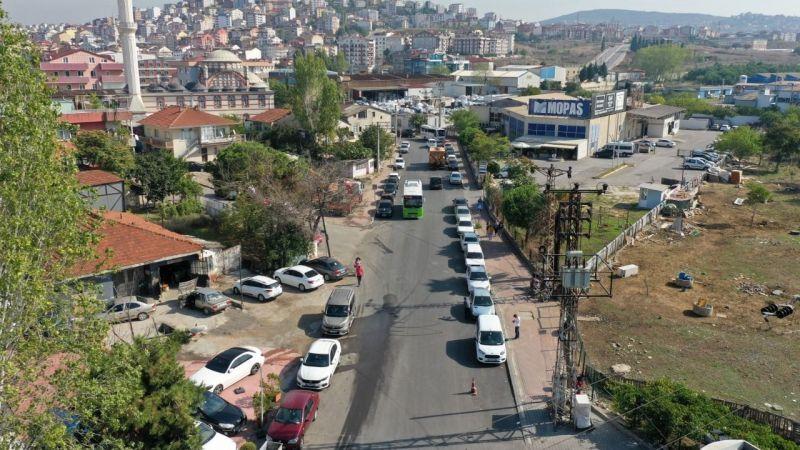 Çayırova Yavuz Sultan Selim Caddesi yenilendi