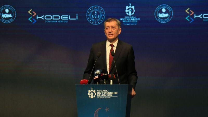 Milli Eğitim Bakanı Selçuk, Kocaeli'de kodlama atölyesi açılışına katıldı
