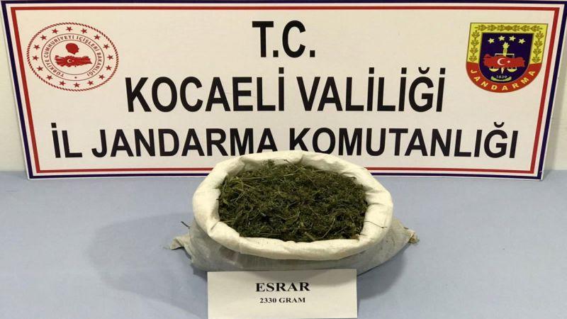 Kocaeli'de uyuşturucu operasyonunda 1 kişi gözaltına alındı