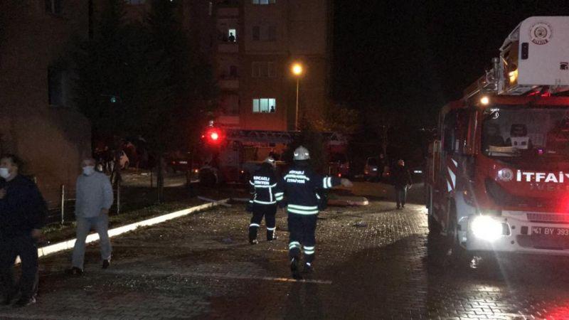 Kocaeli'de evde doğal gaz patlaması sonucu 1 kişi yaralandı