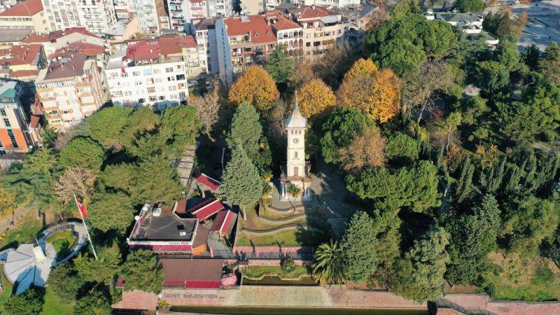 İzmit'in sembolü saat kulesi ihtişamıyla büyülüyor
