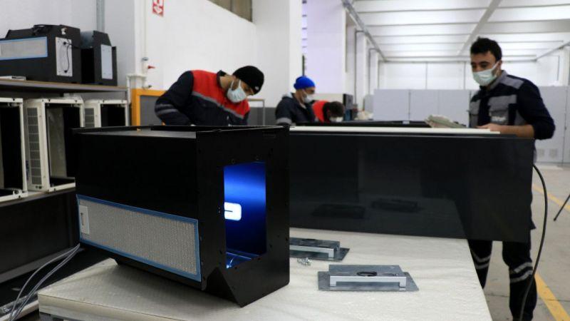 Kocaeli'de üretilen yerli UV dezenfeksiyon sistemi ihracat yolunda