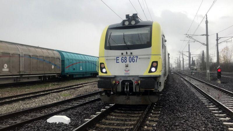 Türkiye'den Çin'e gidecek ikinci blok ihracat treni Kocaeli'ye ulaştı