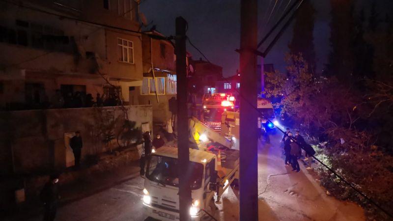 Kocaeli'de çatı ve ev yangını