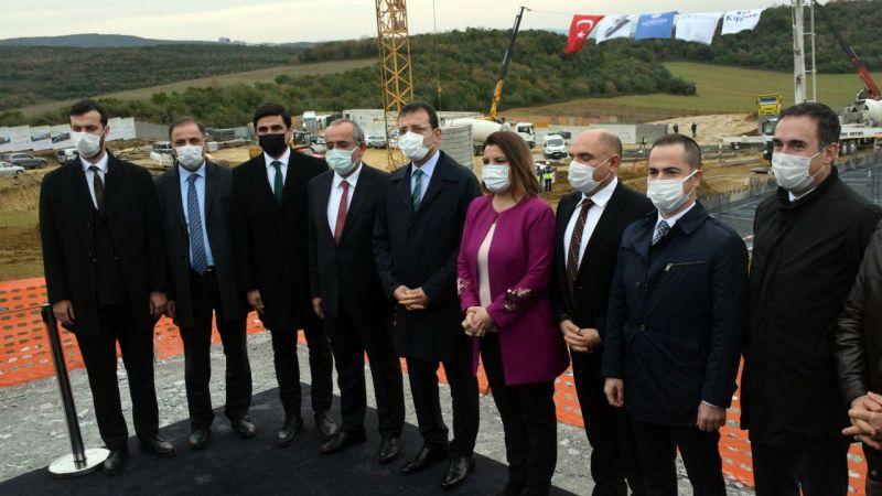 """Kocaeli'de """"KİPTAŞ İzmit Çınar Evler"""" projesinin temeli atıldı"""