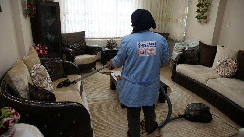 """Kocaeli'de """"Evde Bakım Hizmeti""""nden geçen yıl 27 bin 774 aile yararlandı"""