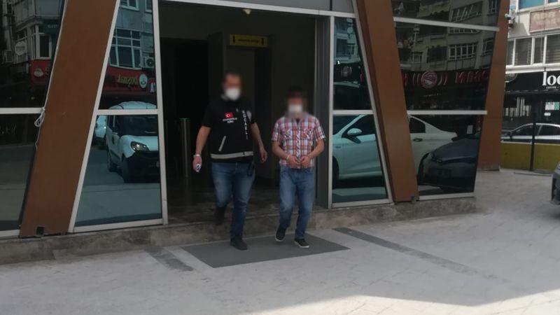 Aranan hükümlü polise yakalandı