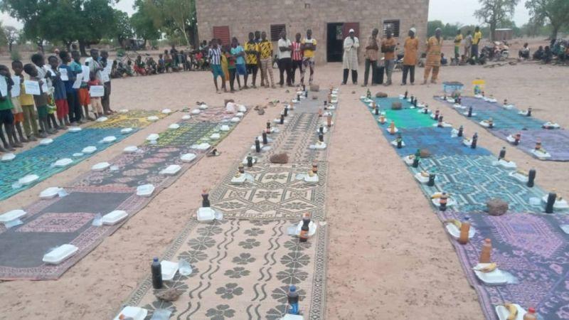 Gölcük'ten Burkina Faso ve Mali'ye iftar yemeği ulaştırıldı