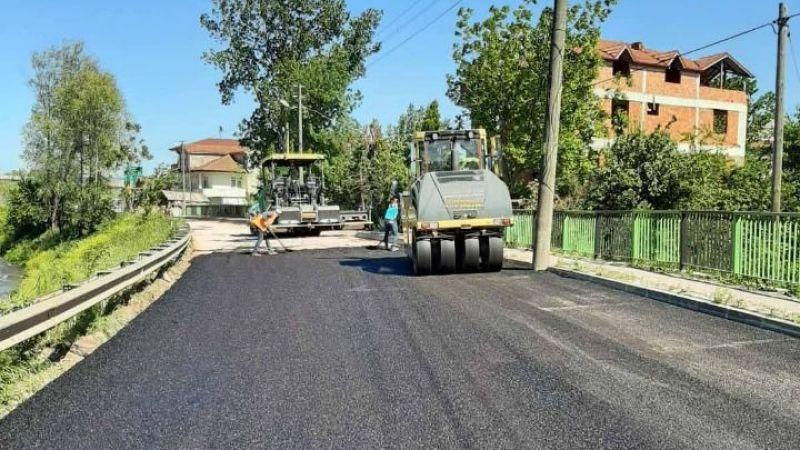 İzmit Alikahya Akarsu Caddesi asfaltlandı