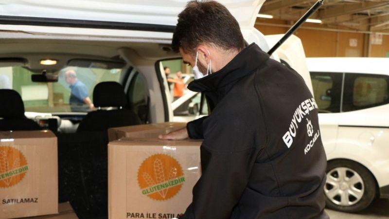 Kocaeli'de çölyak ve PKU hastalarına özel erzak kolileri hazırlandı