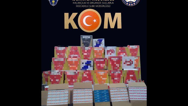 Kocaeli'de kaçak sigara operasyonunda 390 bin makaron ele geçirildi