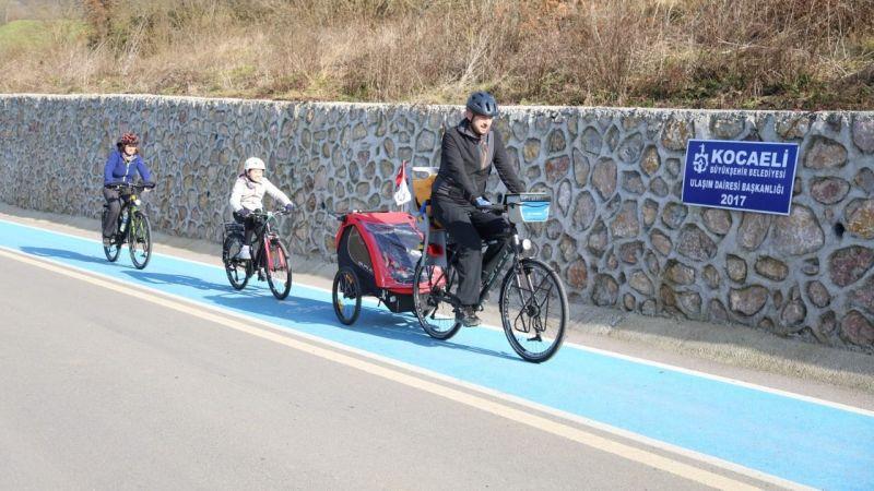 Kocaeli'de bisiklet ulaşımı bu proje ile daha da yaygınlaştırılacak