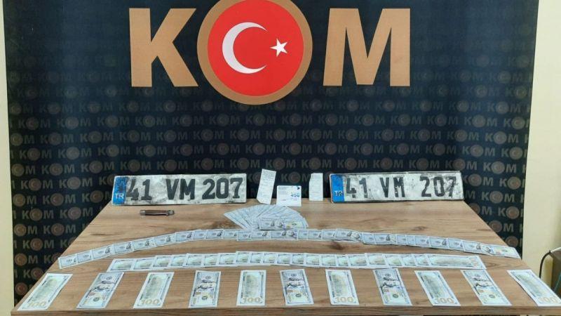 Kocaeli'de sahte dolar operasyonu