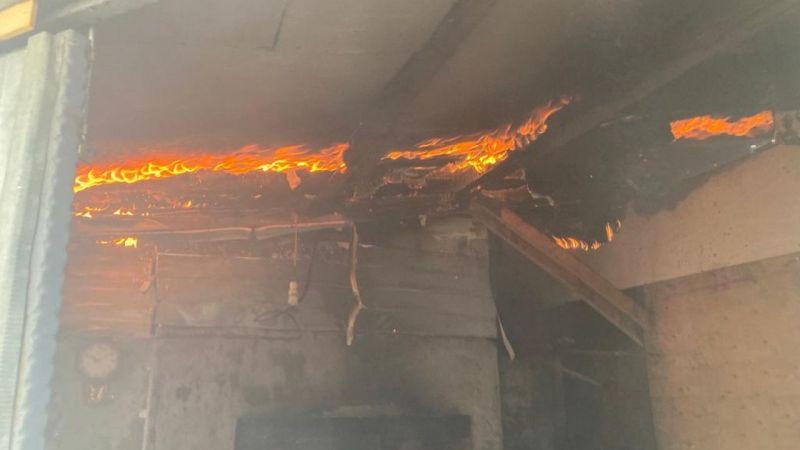 Gebze'de ekmek fırınında korkutan yangın