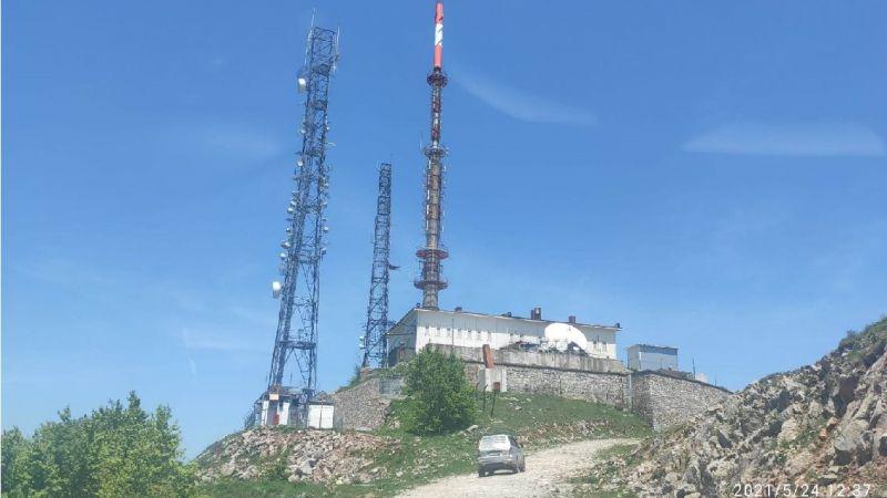 Kartepe'de röle istasyonu kuruldu