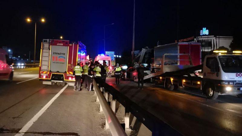 Kocaeli'deki feci kazadan acı haber geldi