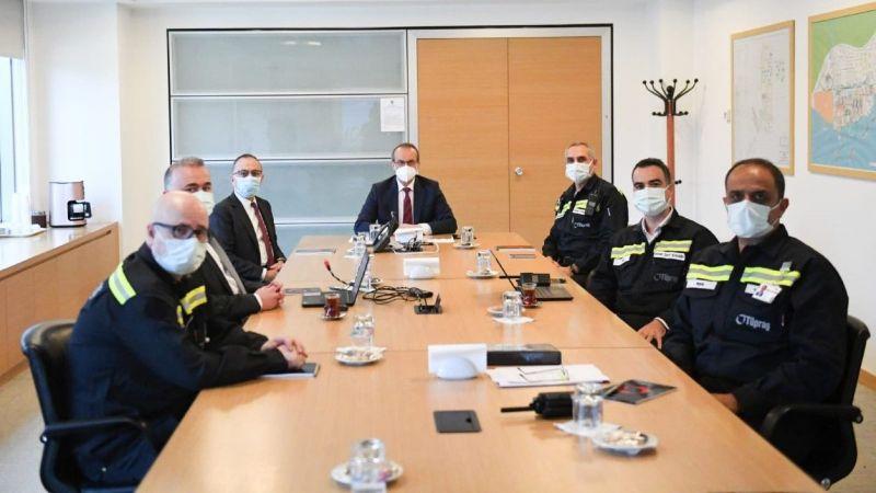 Kocaeli Valisi Yavuz, TÜPRAŞ'ı ziyaret etti