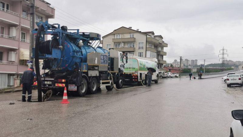 Kocaeli'de ani yağışlara karşı Büyükşehir teyakkuzda