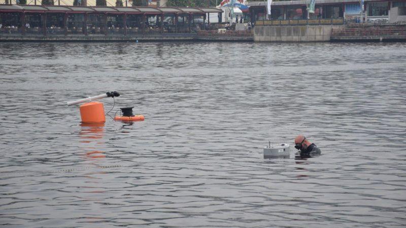 Marmara Denizi'nin oksijen seviyesini artıracak cihazlar denize bırakıldı
