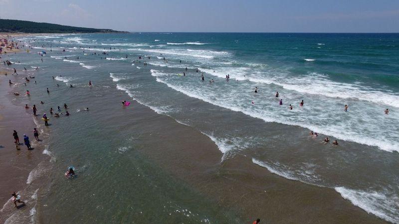 Kandıra'da 4 plajda denize girmek yasaklandı