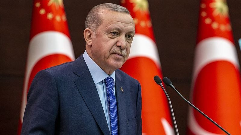 Cumhurbaşkanı Erdoğan'dan orman yangınlarına ilişkin açıklama
