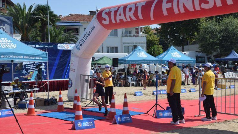 Modern Pentatlon Biathle-Triathle Türkiye Şampiyonası Kocaeli'de başladı