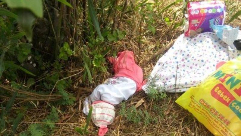 Poşet içinde yol kenarına terkedilmiş bebek bulundu