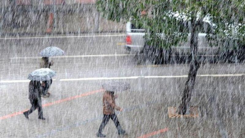 Son Dakika Meteoroloji'den kuvvetli yağış uyarısı