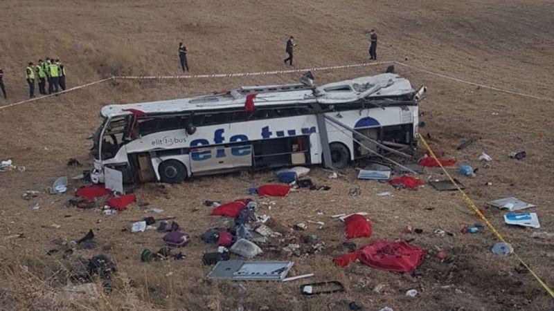 15 kişinin öldüğü kazada kahreden detay
