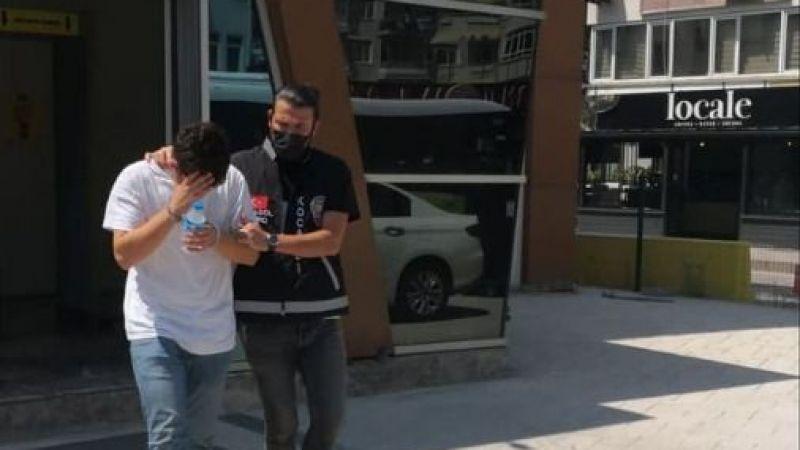 18 Yaşındaki Dolandırıcıyı polis yakaladı