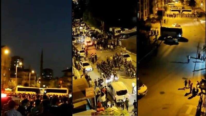 Sondakika: Ankara'da gerginlik sokağa taştı