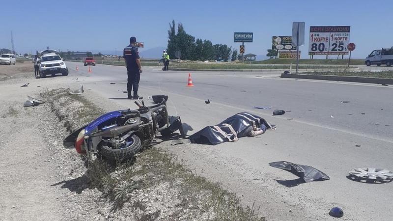 Motorsiklet kazasında Türkiye birincisi hayatını kaybetti