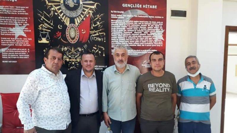 Mehmet Baştürk göreve başladı
