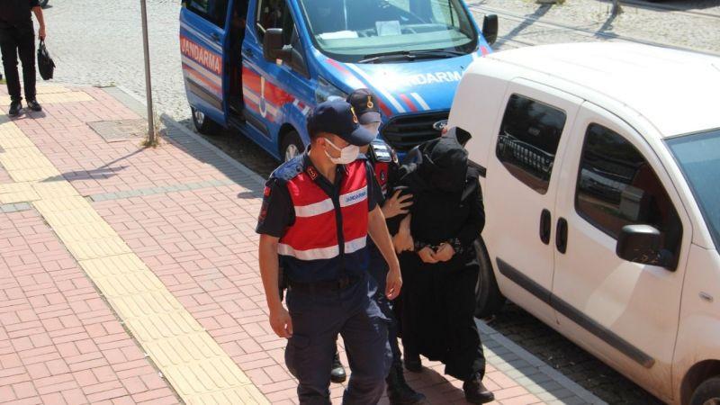 Kadın terörist İzmit'te yakalandı