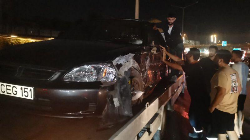 Kocaeli'de ters yöne giren otomobil kazaya neden oldu: 4 yaralı