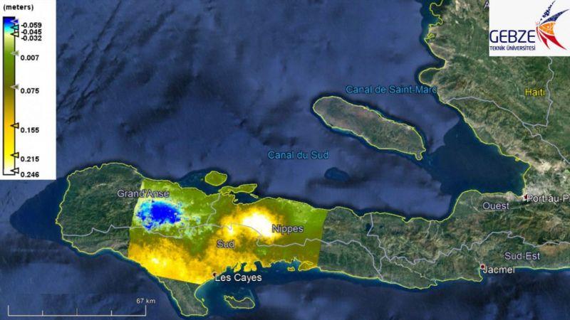 Haiti depreminin etkisi Gebze Teknik Üniversitesince haritalandırıldı: