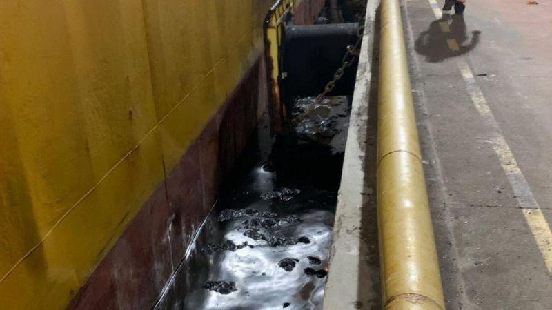 İzmit Körfezi'ni kirleten gemiye 3,4 milyon lira ceza uygulandı