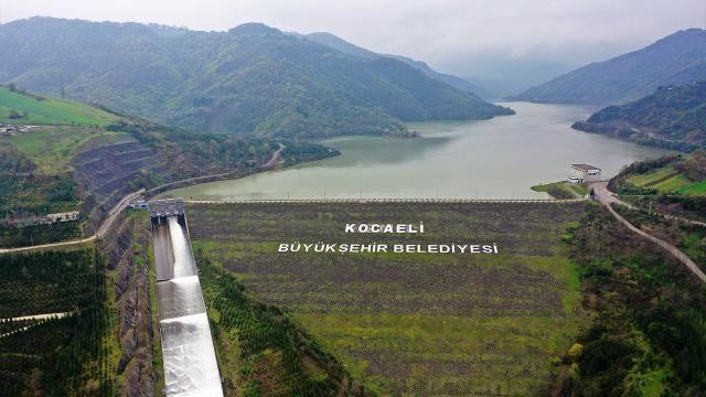 Yuvacık barajı'nda su seviyesi
