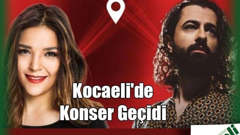 Kocaeli'de konser geçidi