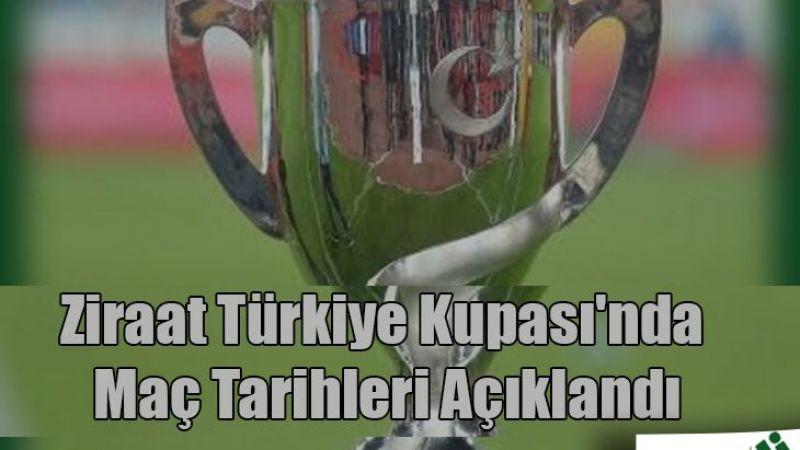 Ziraat Türkiye Kupası'nda 2021-2022 sezonu maç tarihleri açıklandı